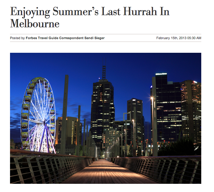 Summer in Melbourne