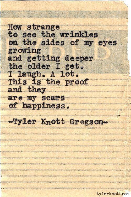 Tyler Knott Gregson - Wrinkles