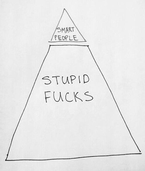 Smart People, Stupid Fucks